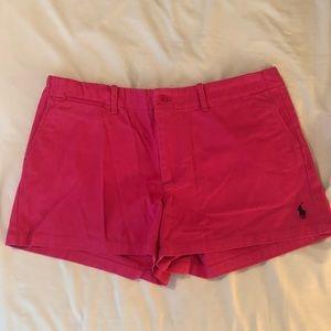 Ralph Lauren Sport Pink Chino Shorts 12